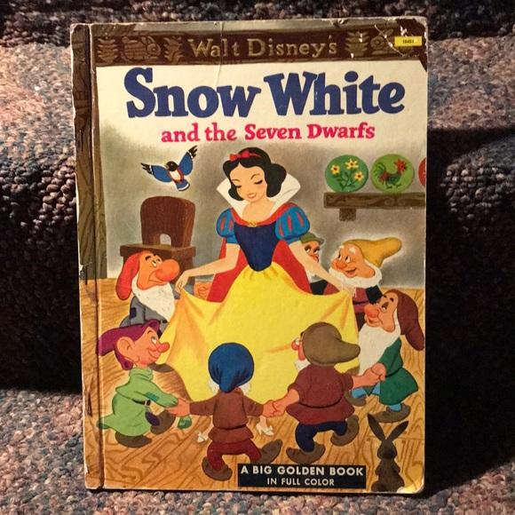 Vintage Walt Disney Children's Book